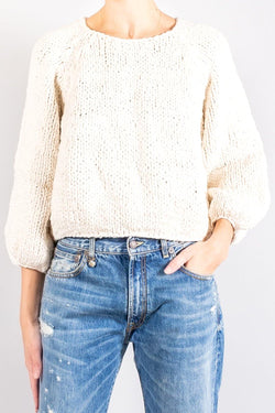 Apiece Apart Handknit Oversized Elena Sweater