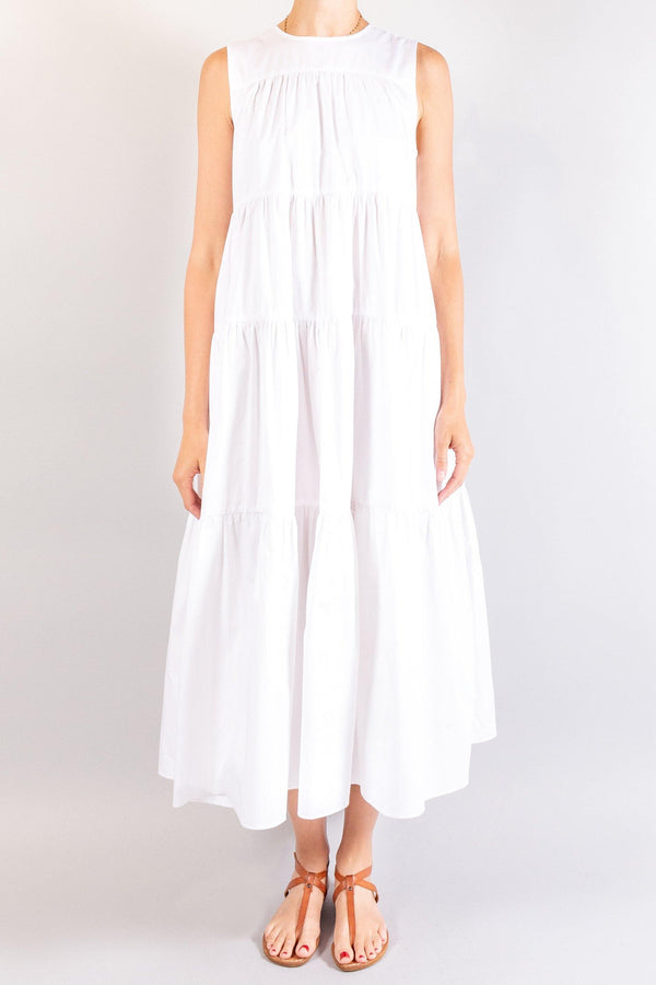 CO Sleeveless Tiered Dress