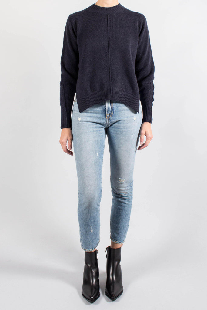 Isabel Marant CHINN Navy Cashmere Sweater