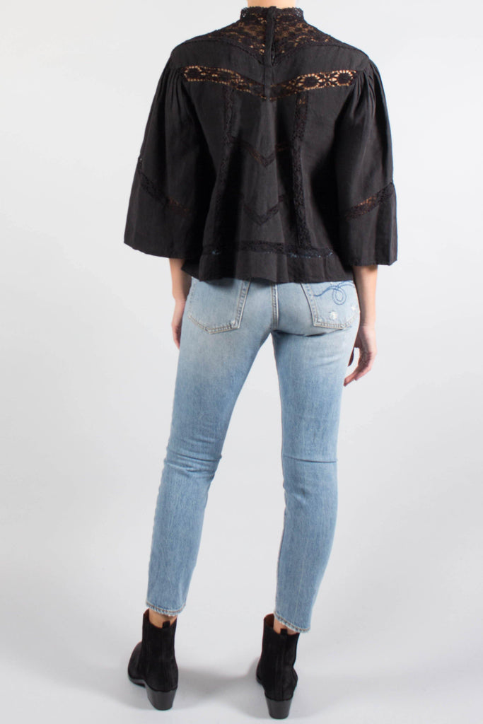Isabel Marant LYS Lace Panelled Top