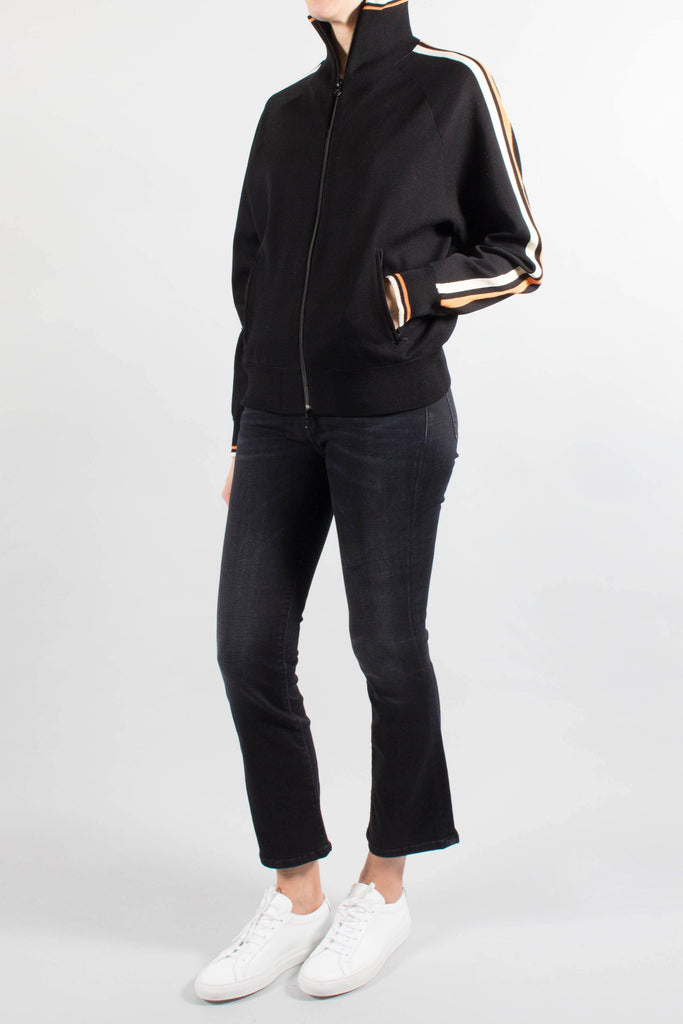 Isabel Marant DARCEY Zip Front Sporty Knit