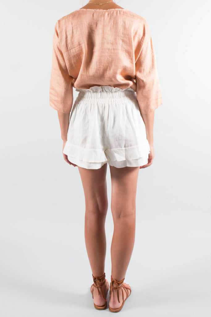 Isabel Marant GRIDDY Linen Shorts