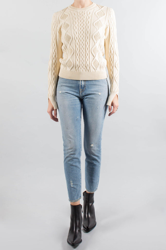 Les Coyotes de Paris MAGNOLIA Cable Knit Sweater