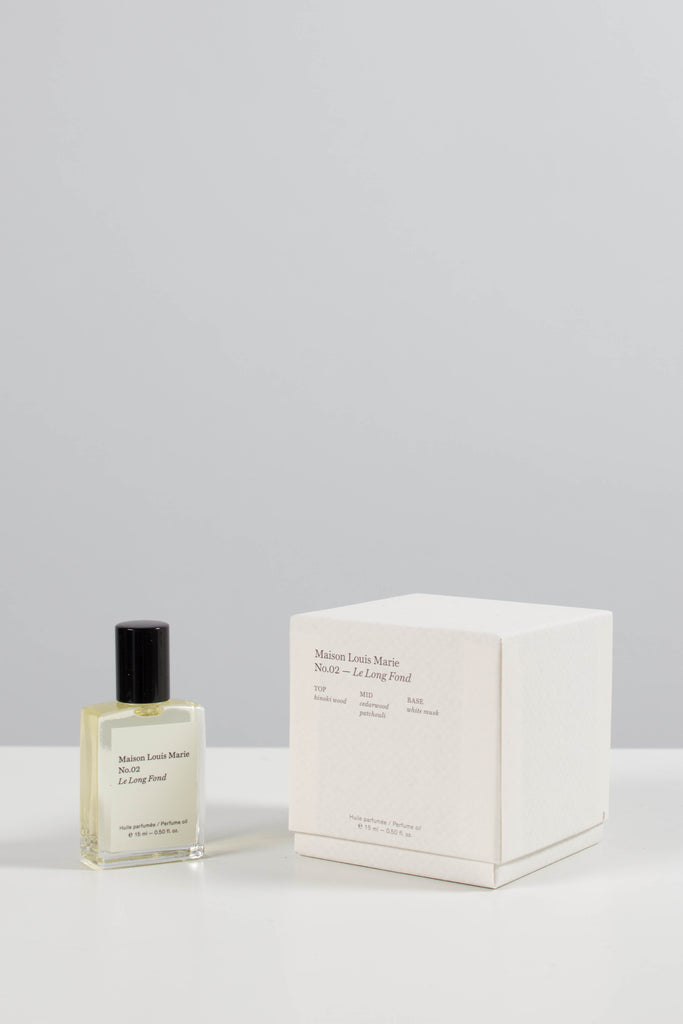 Maison Louis Marie no. 02 Le Long Fond Perfume Oil