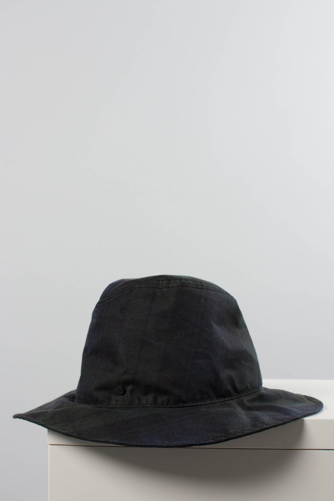 Maison Michel Plaid Rain Hat