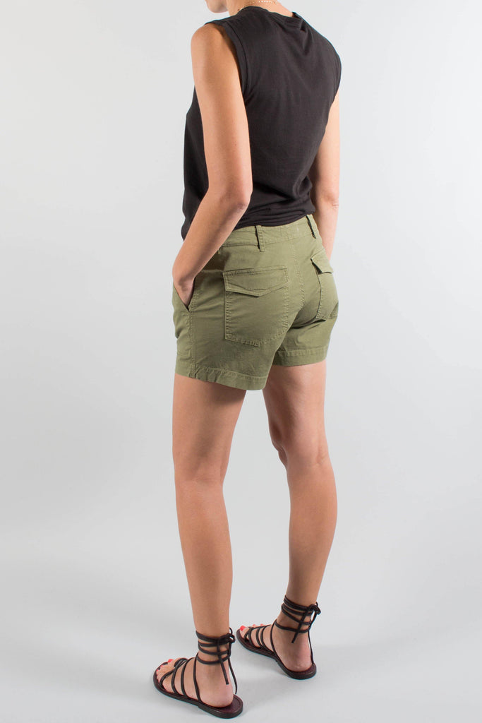 Nili Lotan UTILITY Cotton Short