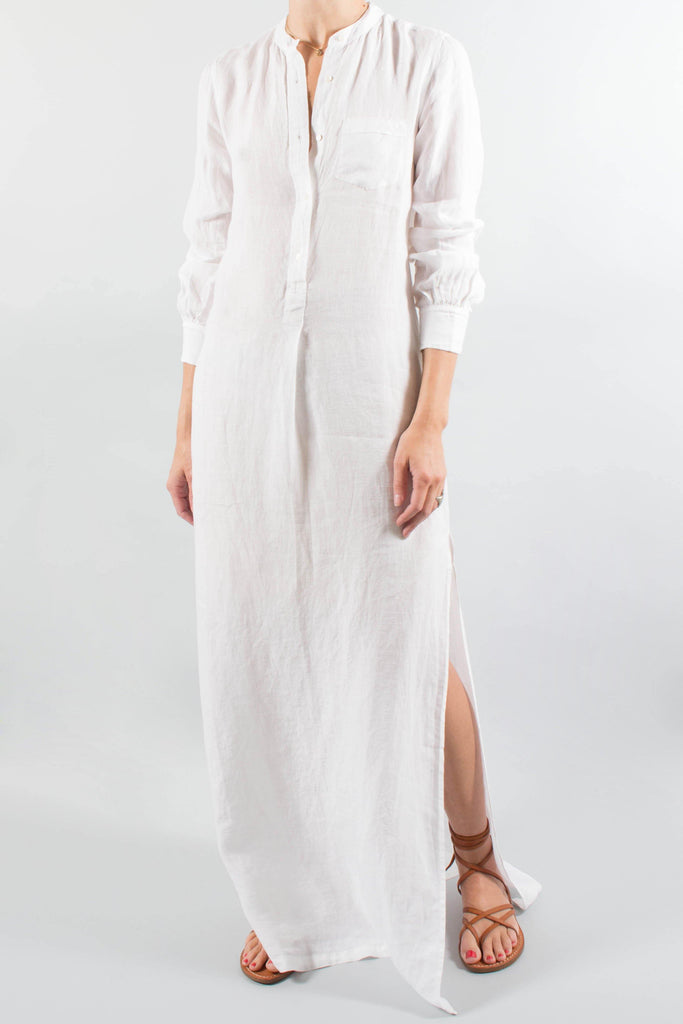 Nili Lotan GALABEYA Long Beach Dress