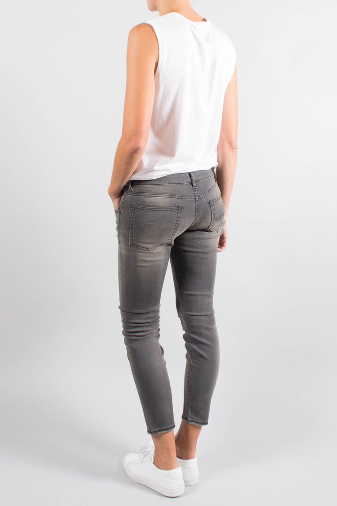 R13 Boy Skinny in Grey Orion