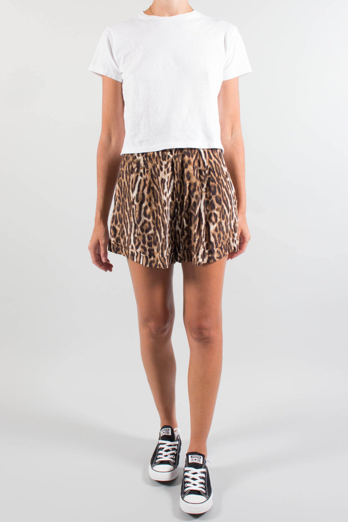 R13 Printed High-Rise Short