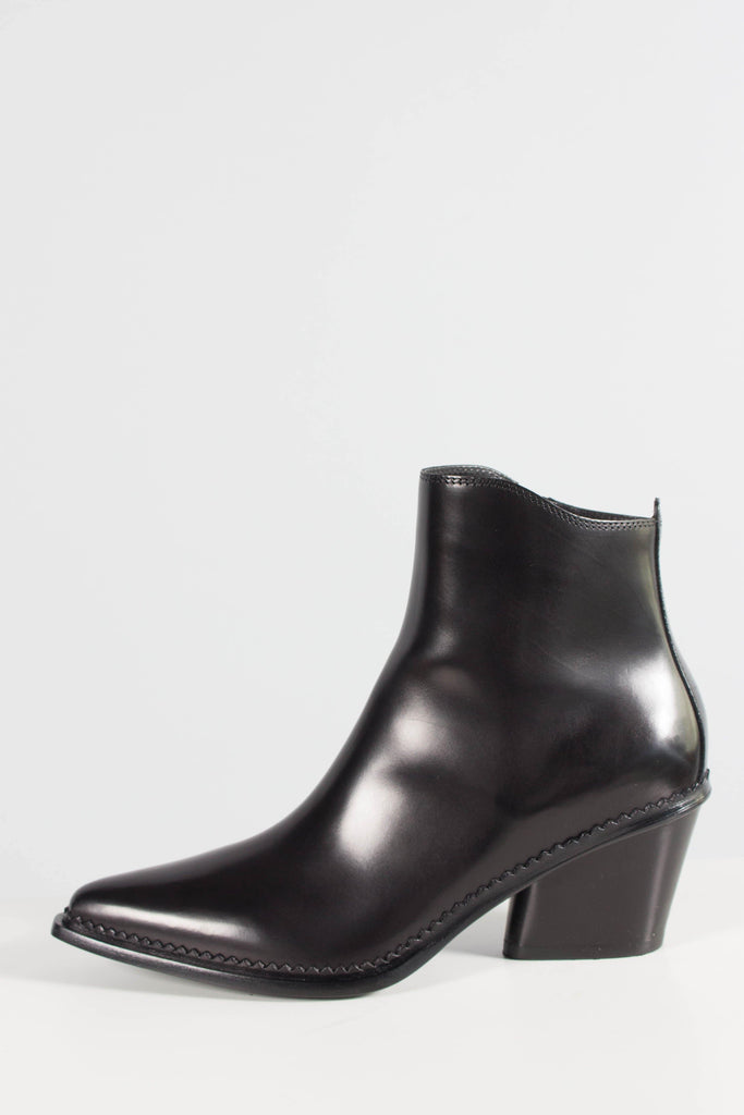 Sartore Leather Western Heeled Boot