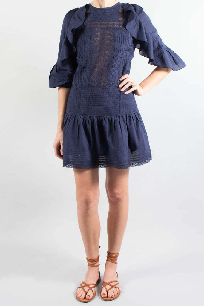 Vanessa Bruno Cotton Lace LOUKIA Dress
