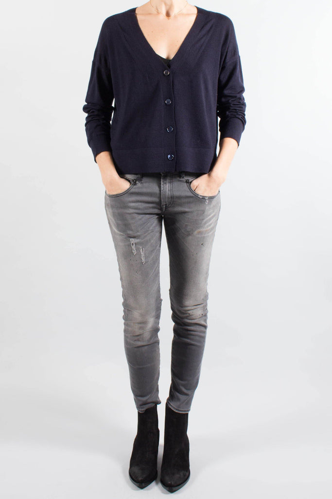 Vanessa Bruno Navy LATETICIA Cardigan