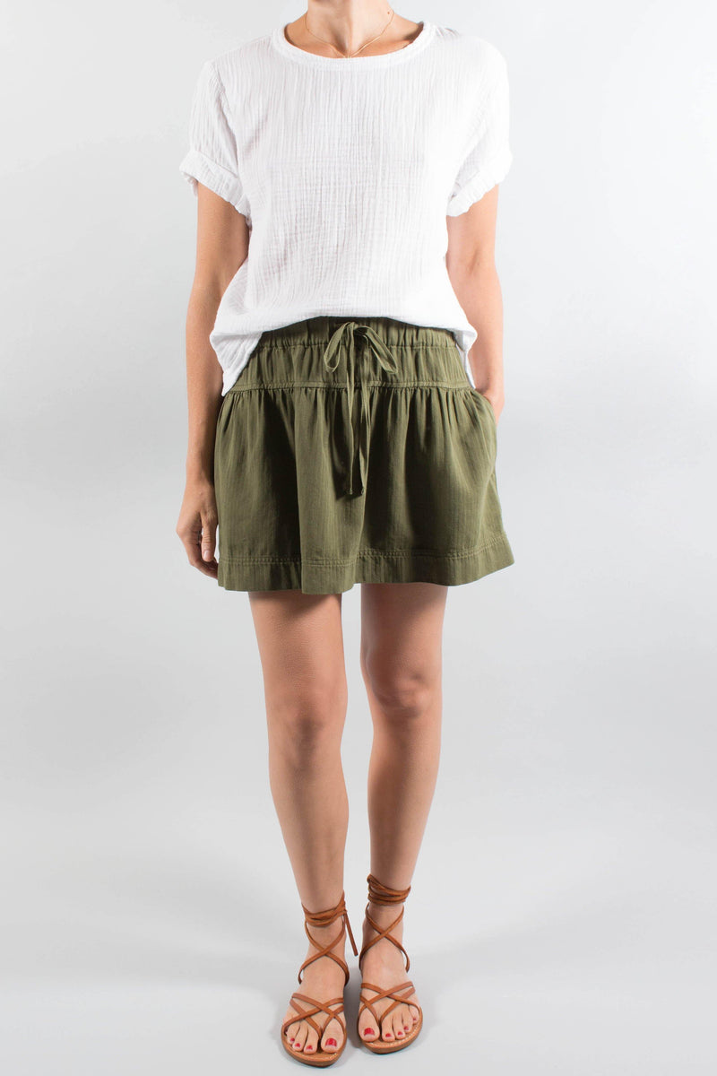 Xirena Cotton SKATER Skirt