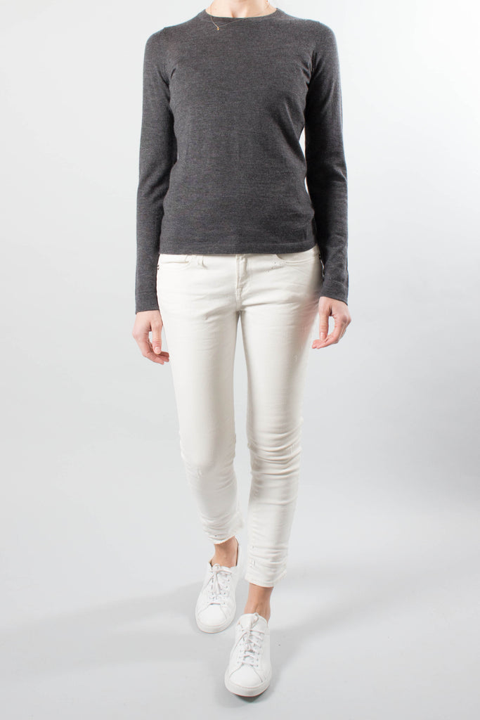 Le Kasha Fine Cashmere Long Sleeve Sweater