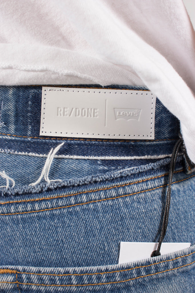 Re/Done x Levis Stovepipe with Released Waistband