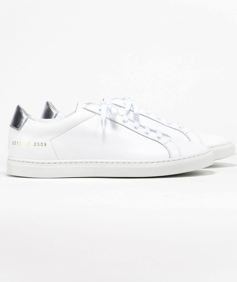 Common Projects Retro Low 6019 - White/Silver