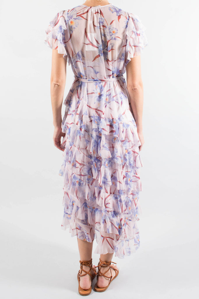 Zimmermann Corsage Flutter Dress