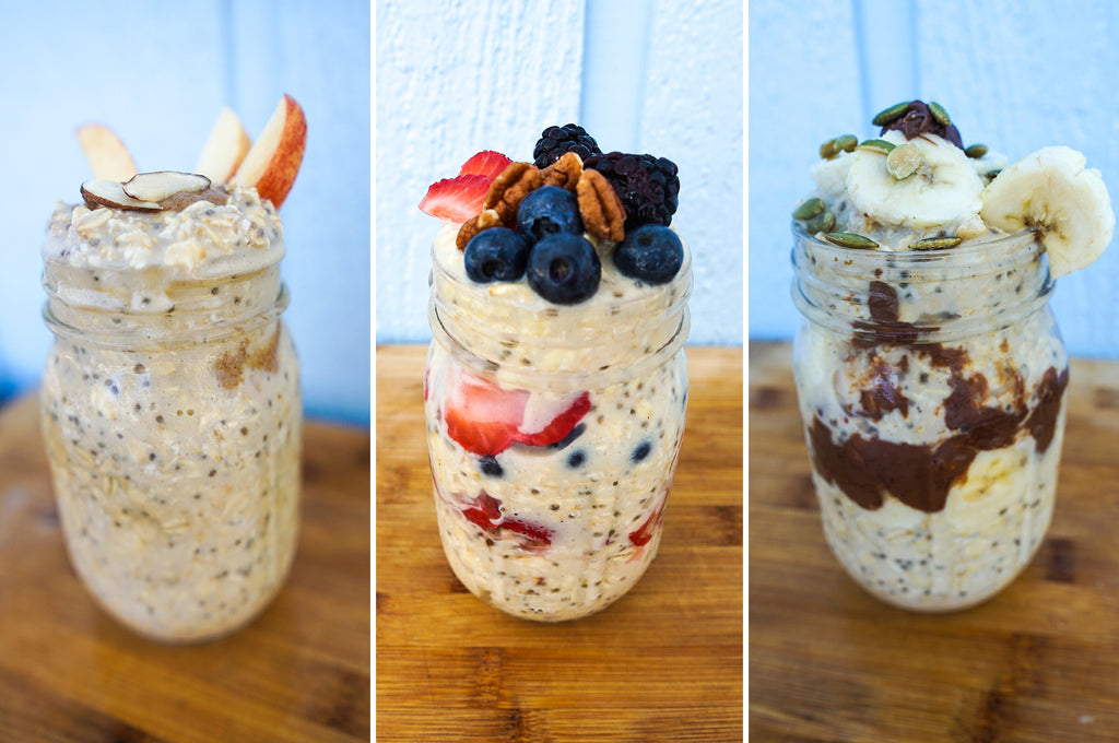 TrueFit Cinnamon Churro Overnight Oats