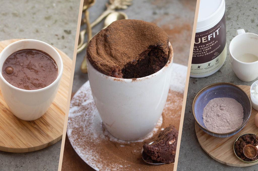 One Minute Chocolate Protein Mug Cake