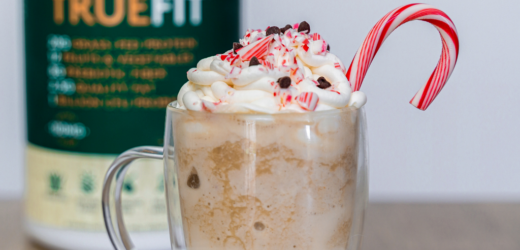 Frozen Peppermint Cold Brew Mocha