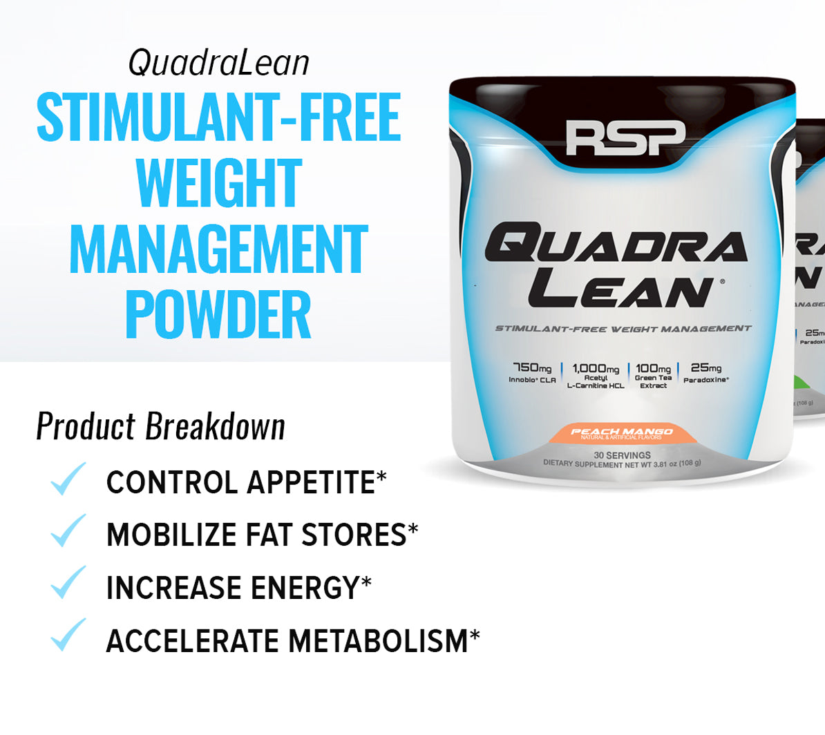 QuadraLean Powder