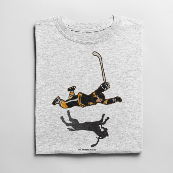 Boston Bruins Bobby Orr The Goal Goat T Shirt