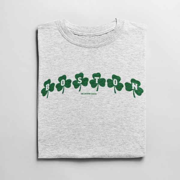 Boston Shamrock Saint Patricks Day Shirt