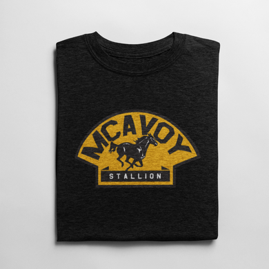 Charlie McAvoy Stallion Hockey T Shirt