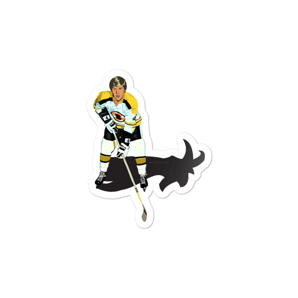 Bobby Orr Goat Boston Bruins Sticker
