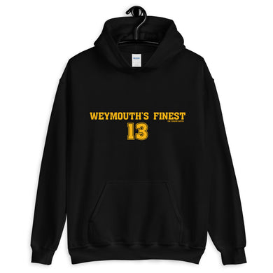 Charlie Coyle Weymouth's Finest Hooded Sweatshirt
