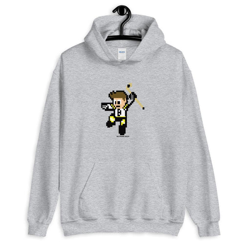 8 Bit Boston Bruins Hockey Hooded Sweatshirt
