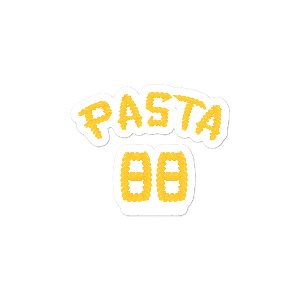David Pastrnak Pasta Bruins Sticker