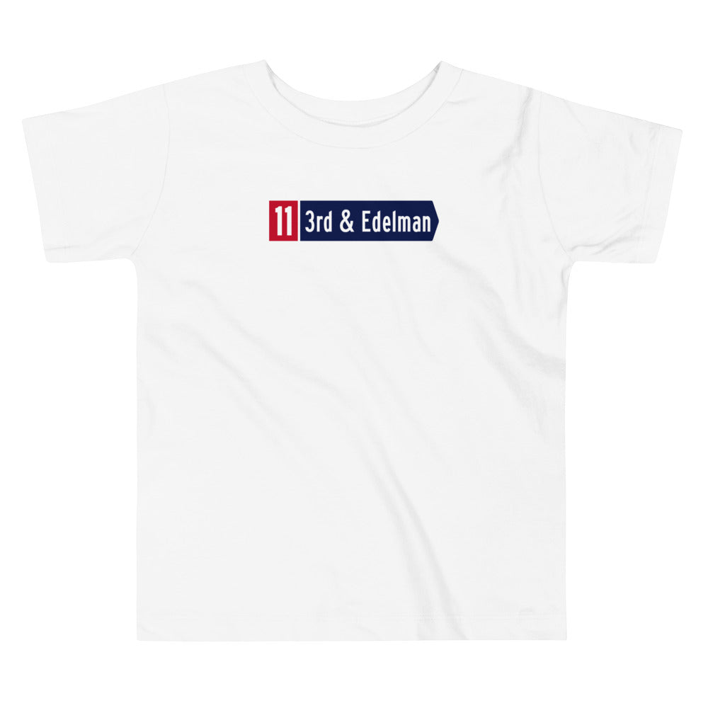 3rd & Edelman Patriots Toddler T Shirt