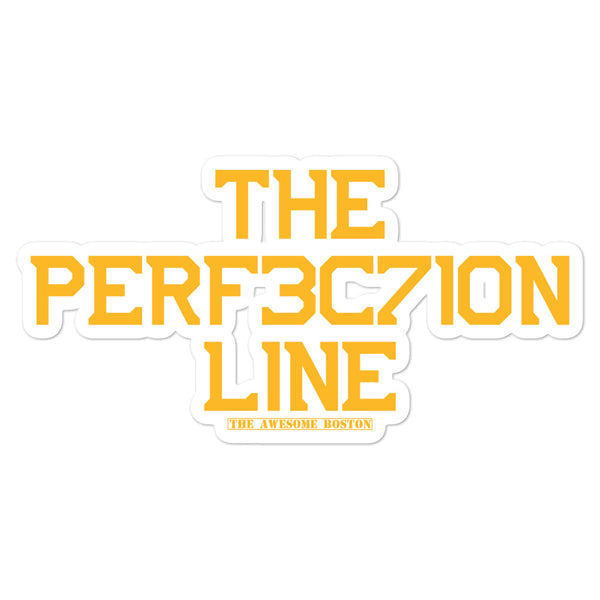 The Perfection Line Boston Bruins Sticker