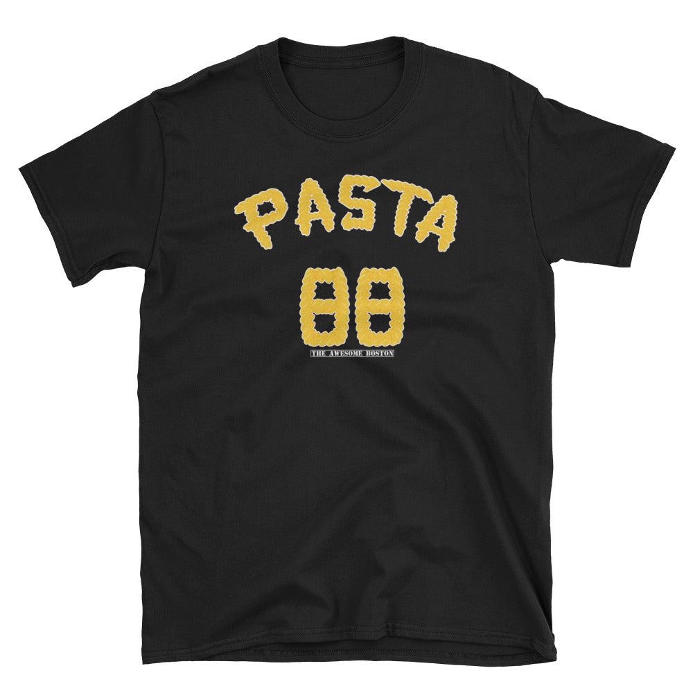 Black David Pastrnak Pasta T Shirt