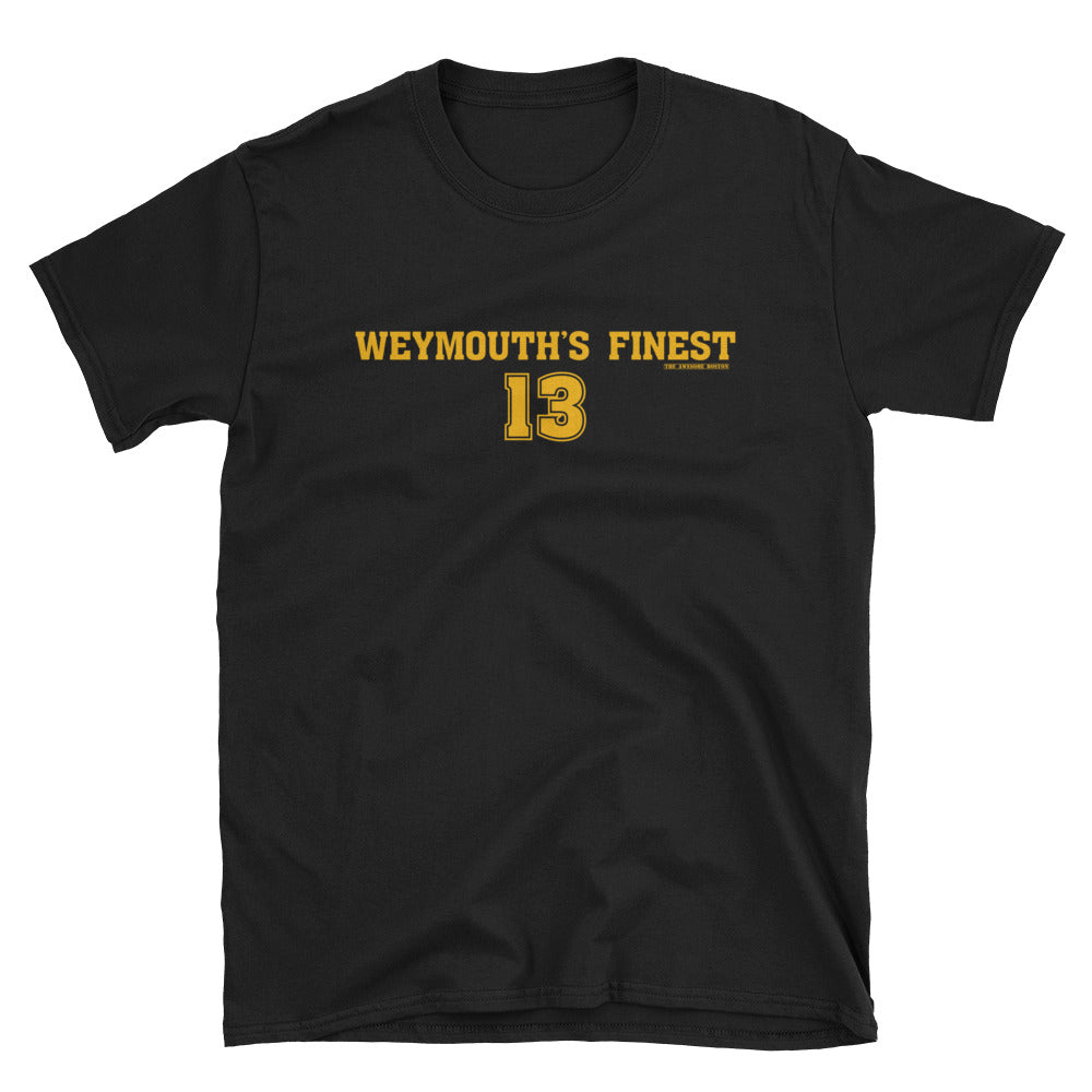 Charlie Coyle Weymouth's Finest Boston Bruins T Shirt