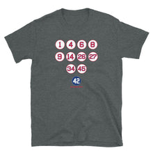 Boston Red Sox Retired Numbers T Shirt