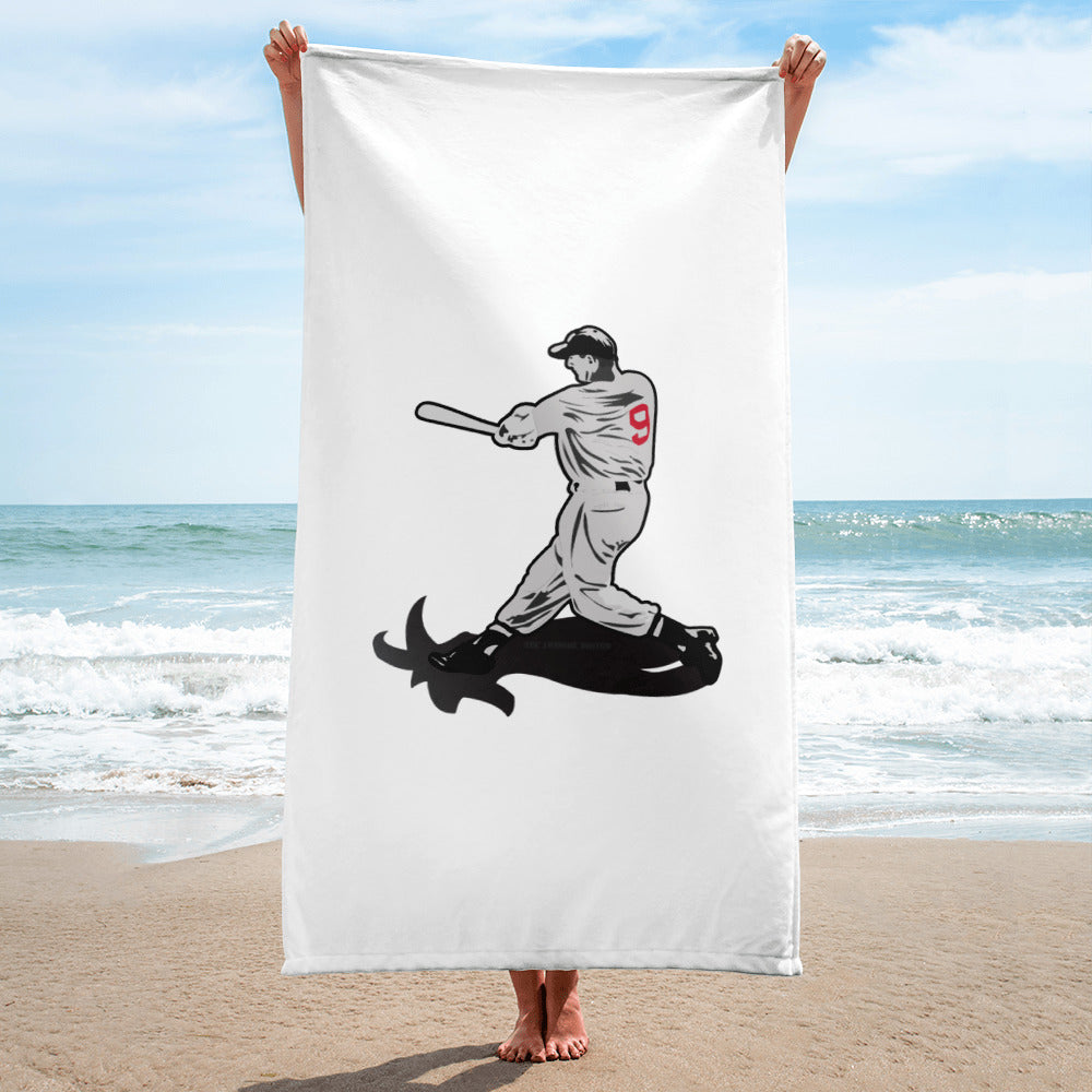Boston Red Sox Ted Williams Goat Beach Towel