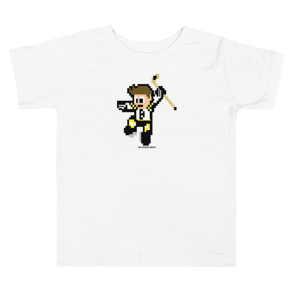 8 Bit Boston Hockey Toddler T Shirt