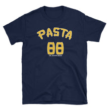 Blue David Pastrnak Pasta T Shirt