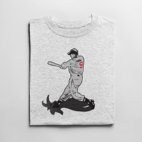 Ted Williams 'Splendid Splinter' Goat T Shirt