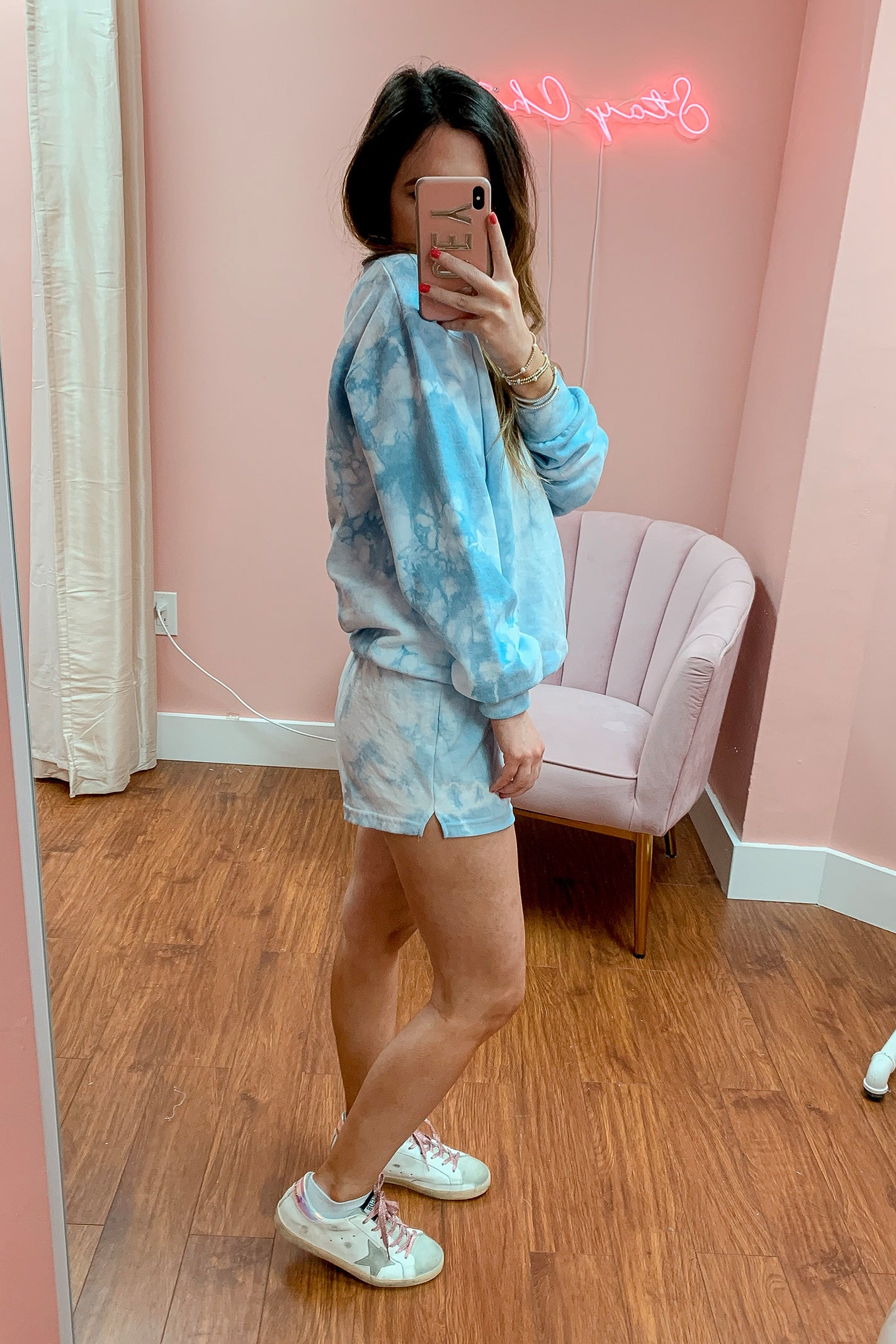 Baby Blue Short Set
