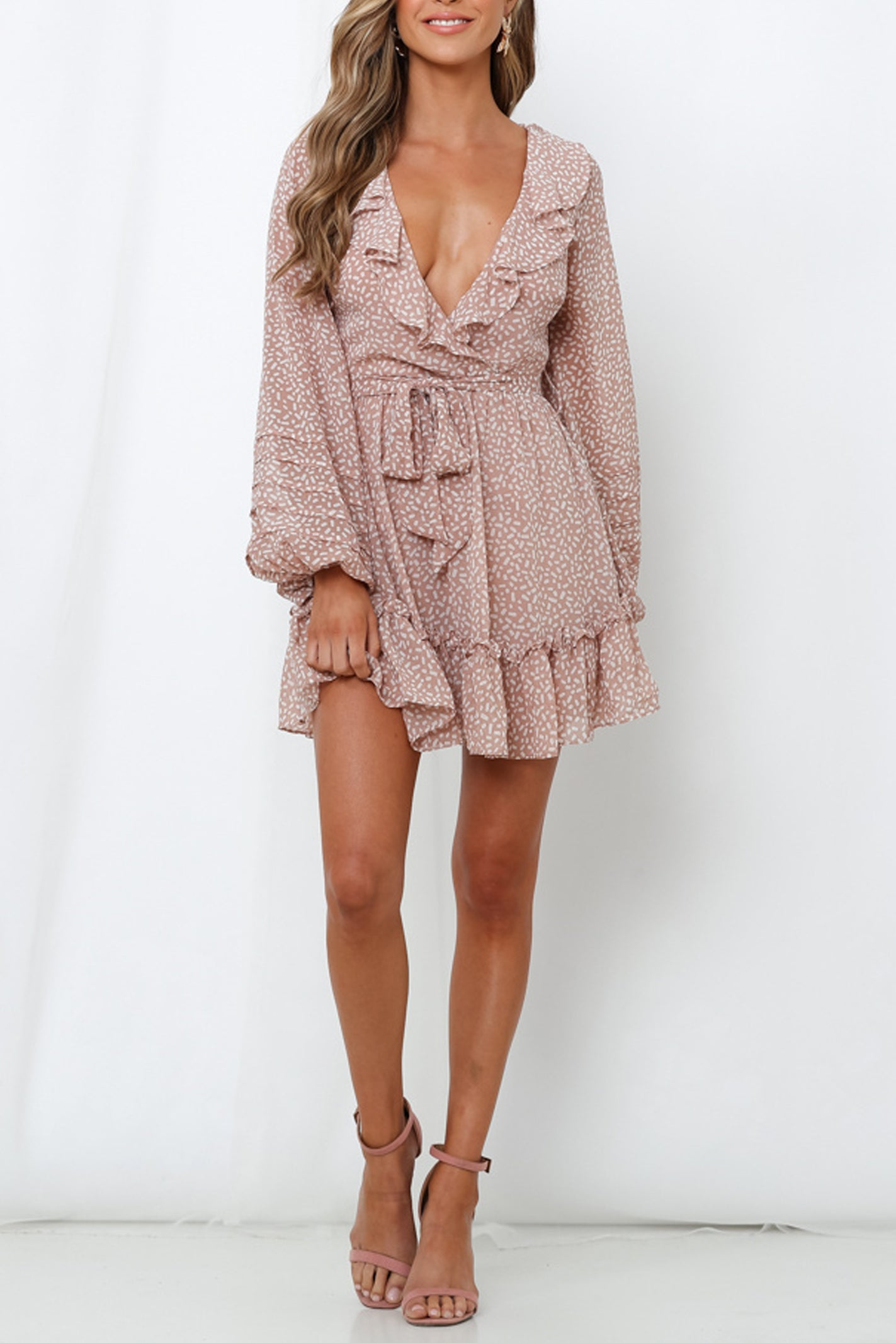 Belmont Dress - Blush