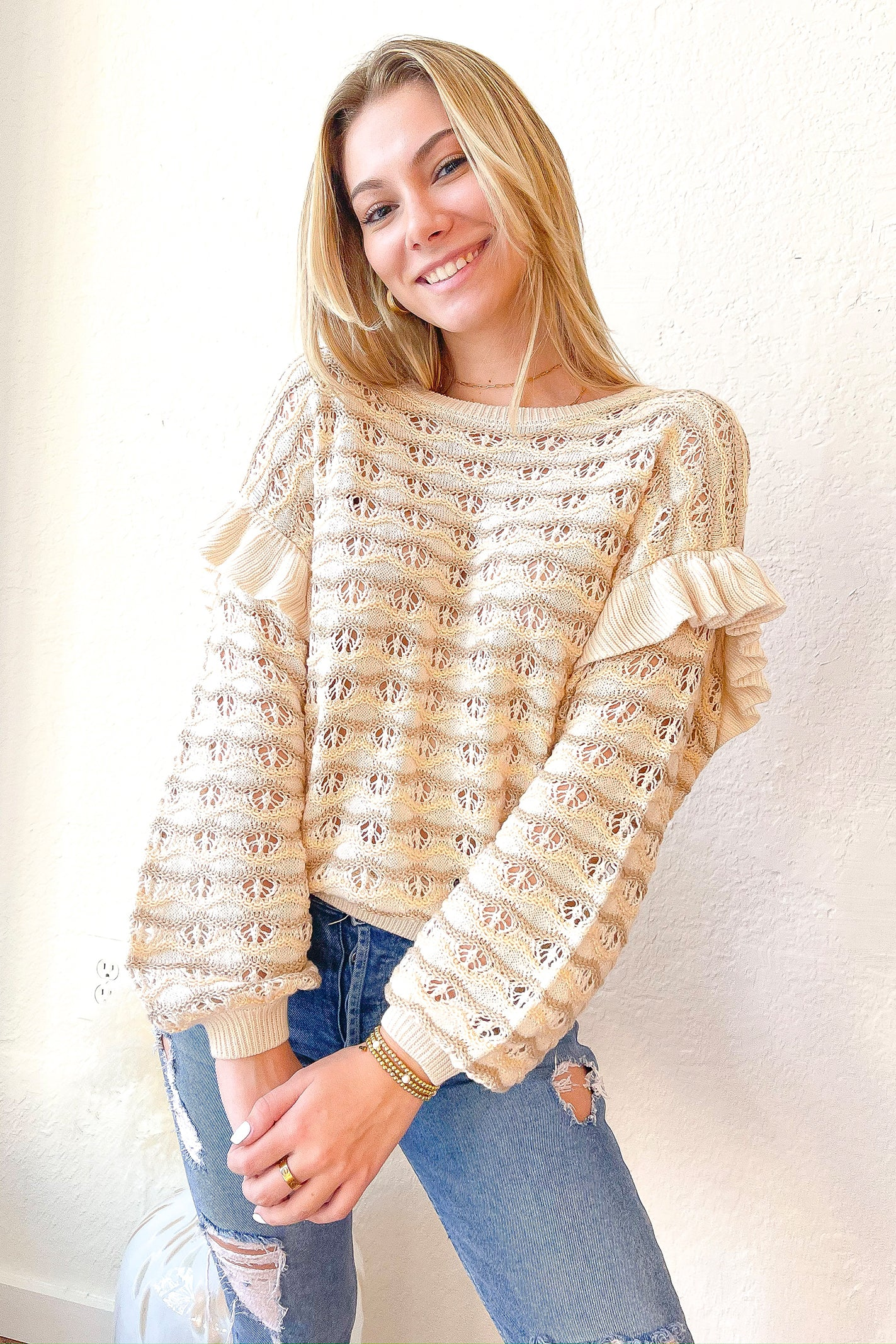Frilly Sweater