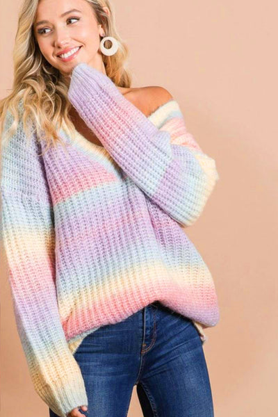 Pastel Dreams Sweater