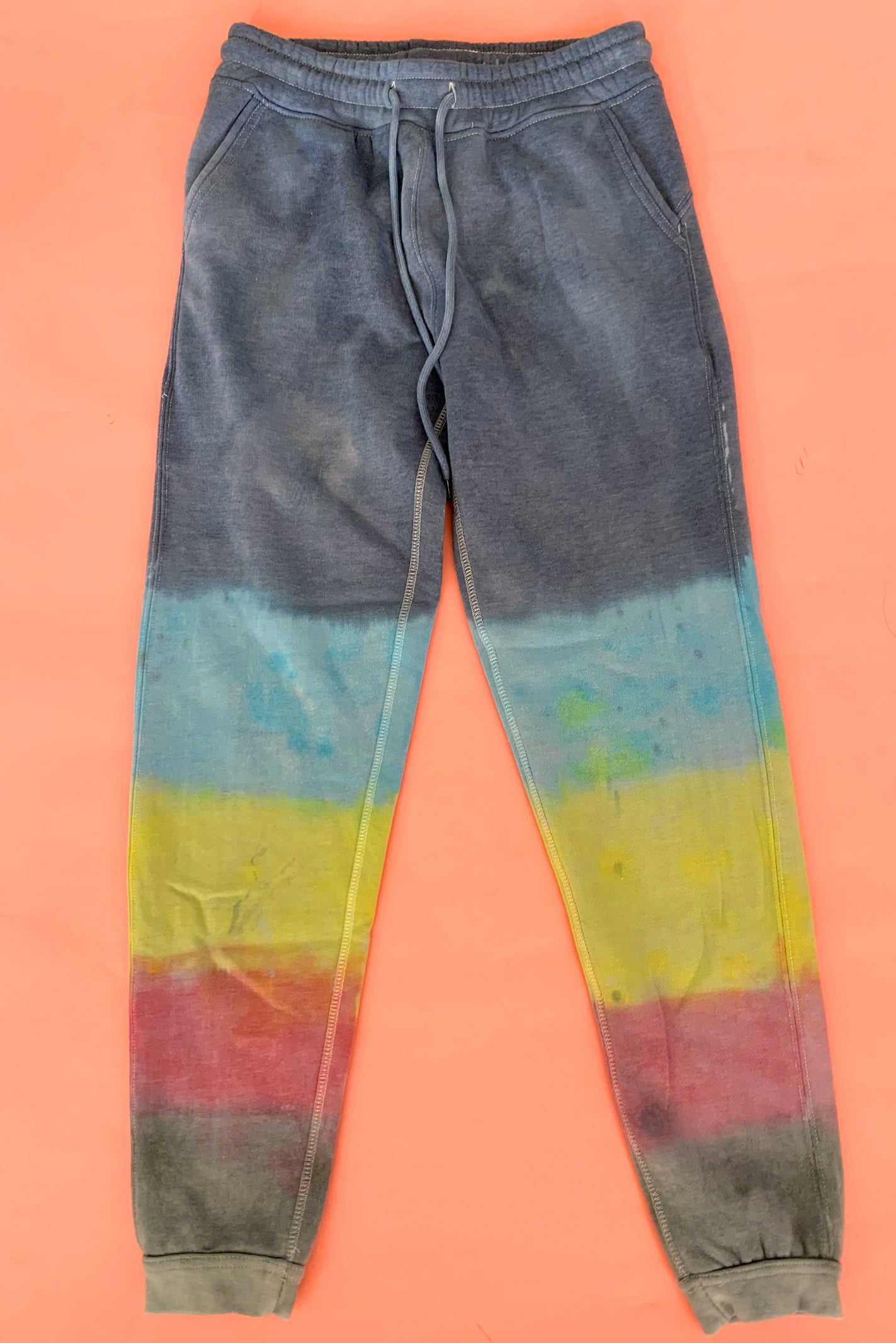 Striped Rainbow Jogger