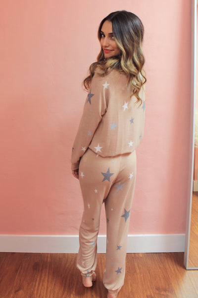 Starry Eyed Set - Taupe