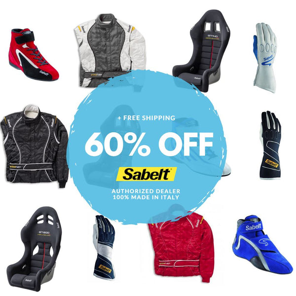 Sabelt Seats, Gloves, Suits, and Shoes 60% OFF!