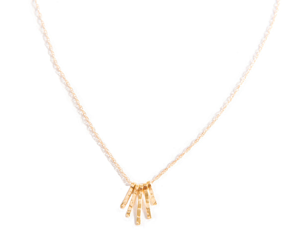 24k Baby Fringe Necklace