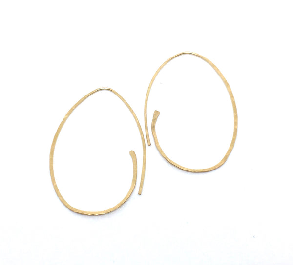Ancient Oval Hoops